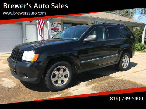 2009 Jeep Grand Cherokee for sale at Brewer's Auto Sales in Greenwood MO