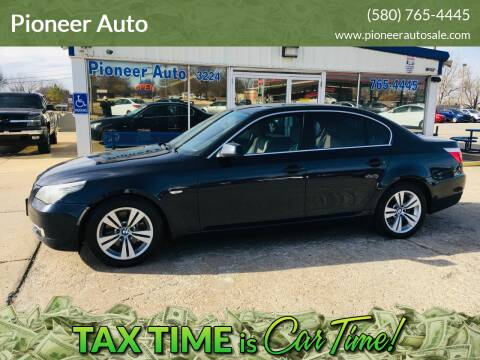 2010 BMW 5 Series for sale at Pioneer Auto in Ponca City OK