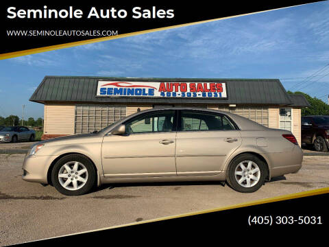 2008 Toyota Avalon for sale at Seminole Auto Sales in Seminole OK