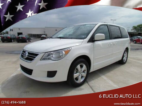 2011 Volkswagen Routan for sale at 6 Euclid Auto LLC in Bristol VA