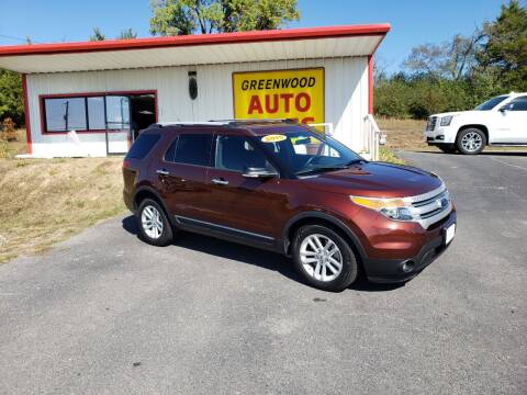 2015 Ford Explorer for sale at Greenwood Auto Sales in Greenwood AR