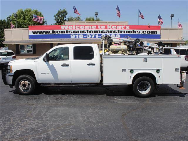 2012 Chevrolet Silverado 3500HD for sale at Kents Custom Cars and Trucks in Collinsville OK