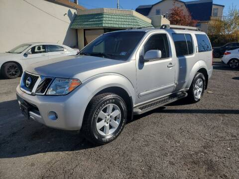 2008 Nissan Pathfinder for sale at Towne Auto Sales in Kearny NJ