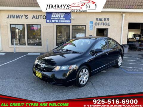 2010 Honda Civic for sale at JIMMY'S AUTO WHOLESALE in Brentwood CA