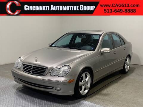 2004 Mercedes-Benz C-Class for sale at Cincinnati Automotive Group in Lebanon OH