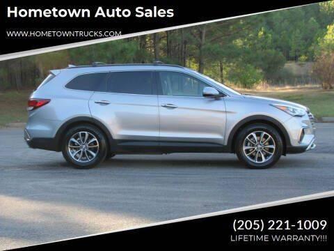 2017 Hyundai Santa Fe for sale at Hometown Auto Sales - SUVS in Jasper AL