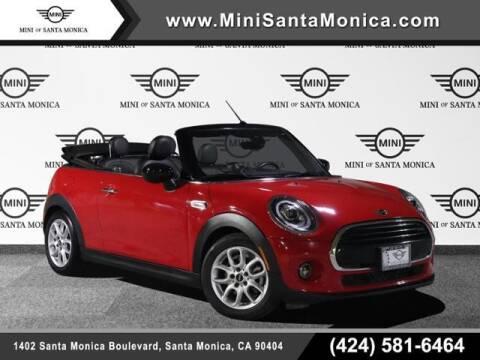 2021 MINI Convertible for sale at MINI OF SANTA MONICA in Santa Monica CA