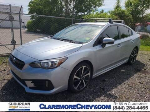 2020 Subaru Impreza for sale at Suburban Chevrolet in Claremore OK
