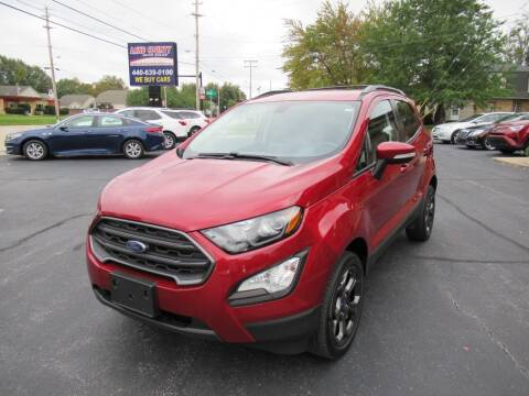 2018 Ford EcoSport for sale at Lake County Auto Sales in Painesville OH
