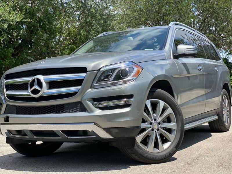 2015 Mercedes-Benz GL-Class for sale at HIGH PERFORMANCE MOTORS in Hollywood FL
