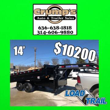 2021 Load Trail 14' Gooseneck Dump Trailer for sale at CRUMP'S AUTO & TRAILER SALES in Crystal City MO