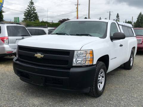 2008 Chevrolet Silverado 1500 for sale at A & V AUTO SALES LLC in Marysville WA