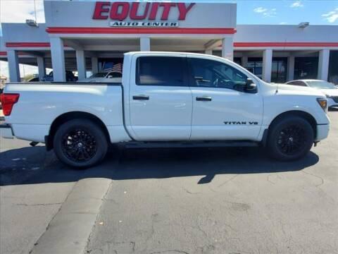 2019 Nissan Titan for sale at EQUITY AUTO CENTER in Phoenix AZ