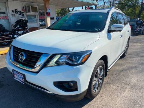 2017 Nissan Pathfinder for sale at New Wheels in Glendale Heights IL