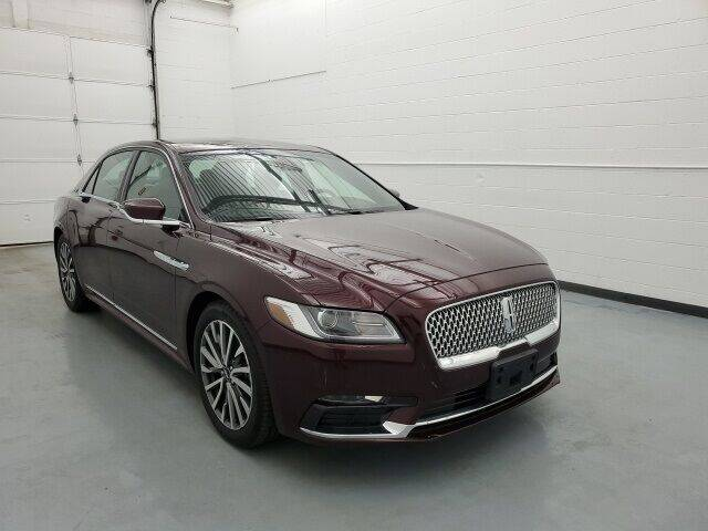 2018 Lincoln Continental for sale in Waterbury, CT