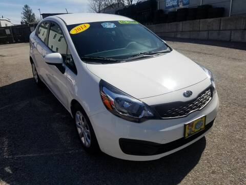 2014 Kia Rio for sale at Fortier's Auto Sales & Svc in Fall River MA