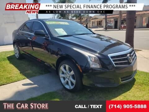 2013 Cadillac ATS for sale at The Car Store in Santa Ana CA