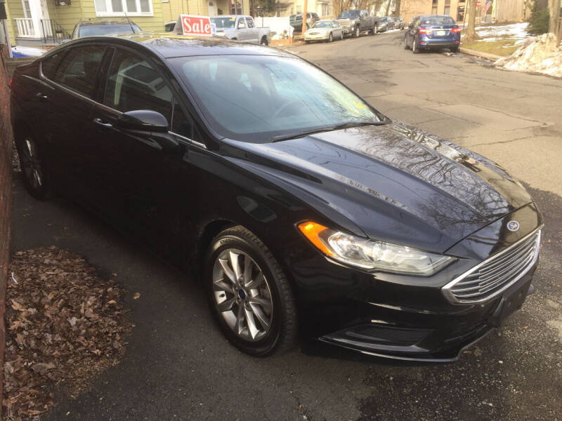 2017 Ford Fusion for sale at UNION AUTO SALES in Vauxhall NJ