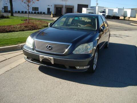 2005 Lexus LS 430 for sale at ARIANA MOTORS INC in Addison IL