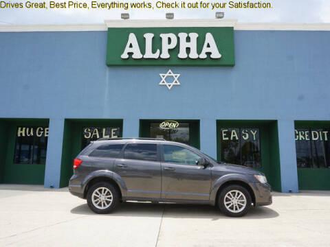 2016 Dodge Journey for sale at ALPHA AUTOMOBILE SALES, LLC in Lafayette LA