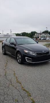 2012 Kia Optima Hybrid for sale at iDrive in New Bedford MA