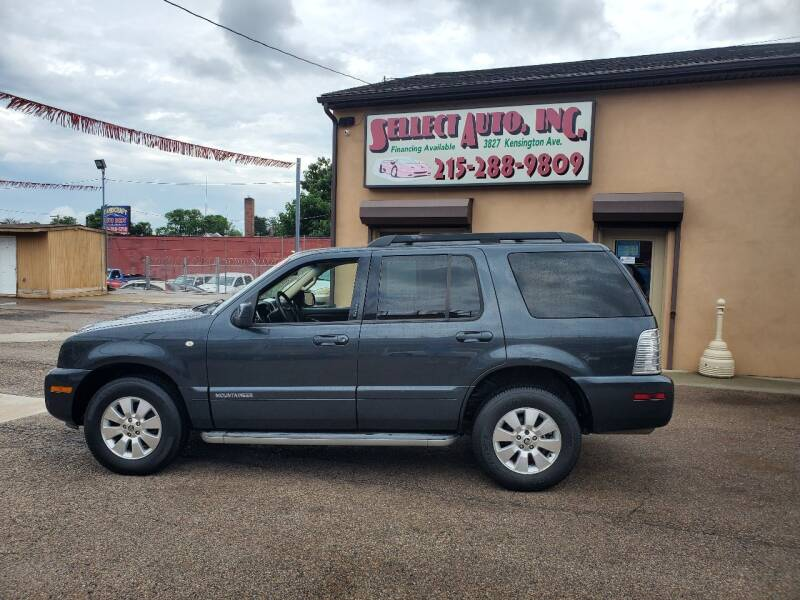 2010 Mercury Mountaineer for sale at SELLECT AUTO INC in Philadelphia PA