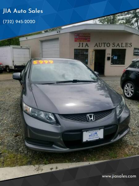 2013 Honda Civic for sale at JIA Auto Sales in Port Monmouth NJ