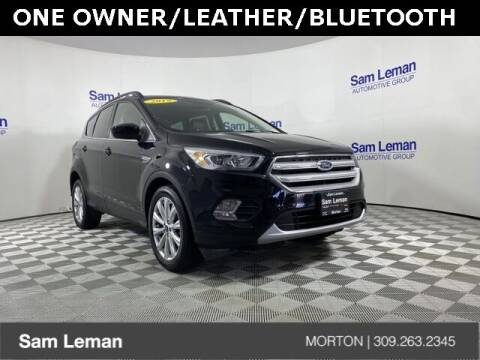 2019 Ford Escape for sale at Sam Leman CDJRF Morton in Morton IL
