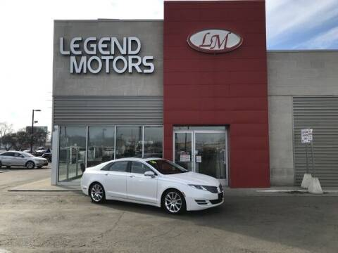 2016 Lincoln MKZ for sale at Legend Motors of Detroit - Legend Motors of Ferndale in Ferndale MI