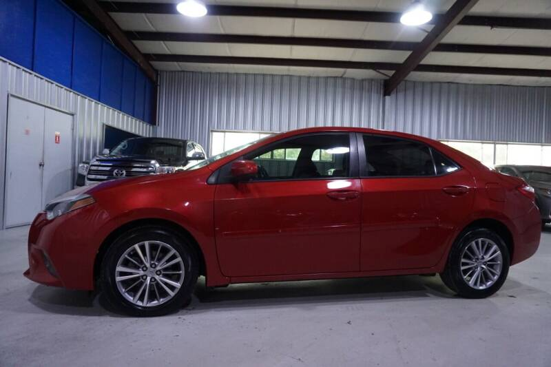 2015 Toyota Corolla for sale at SOUTHWEST AUTO CENTER INC in Houston TX