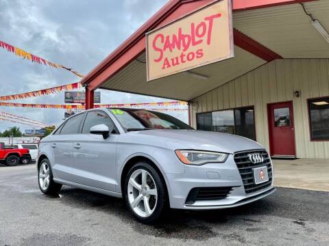 2016 Audi A3 for sale at Sandlot Autos in Tyler TX