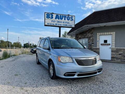 2013 Chrysler Town and Country for sale at 83 Autos in York PA