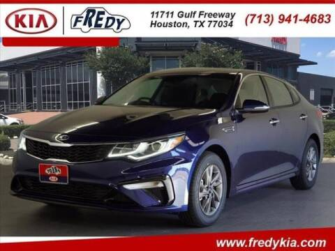 2020 Kia Optima for sale at FREDYS CARS FOR LESS in Houston TX
