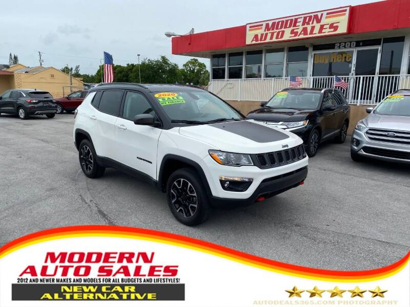 2020 Jeep Compass for sale at Modern Auto Sales in Hollywood FL