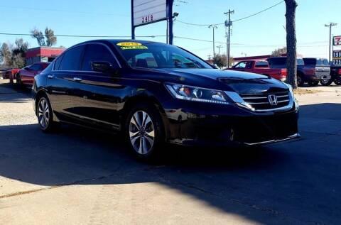 2014 Honda Accord for sale at AUTO BARGAIN, INC in Oklahoma City OK