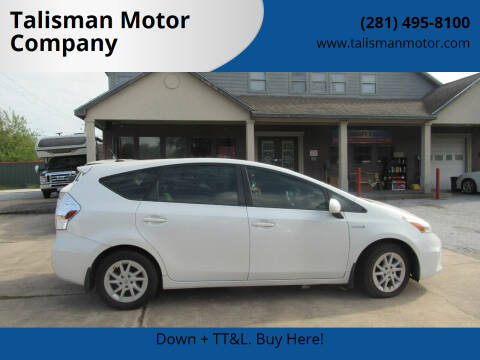 2013 Toyota Prius v for sale at Don Jacobson Automobiles in Houston TX