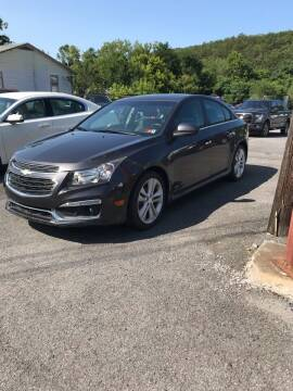 2015 Chevrolet Cruze for sale at BUCKLEY'S AUTO in Romney WV