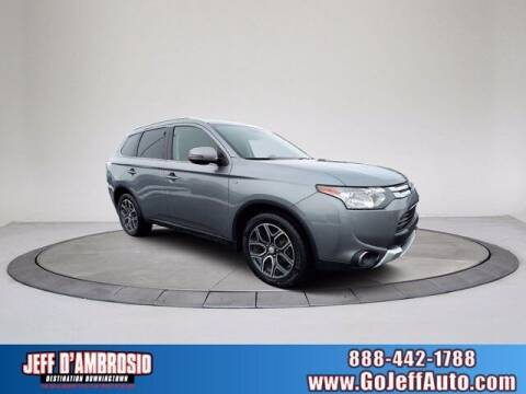 2015 Mitsubishi Outlander for sale at Jeff D'Ambrosio Auto Group in Downingtown PA