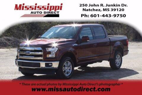 2017 Ford F-150 for sale at Auto Group South - Mississippi Auto Direct in Natchez MS