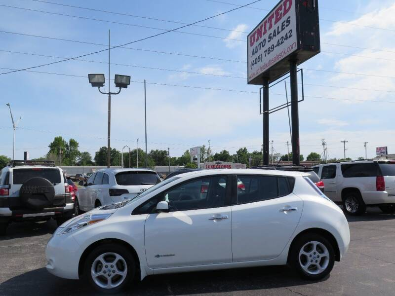 2013 Nissan LEAF for sale at United Auto Sales in Oklahoma City OK