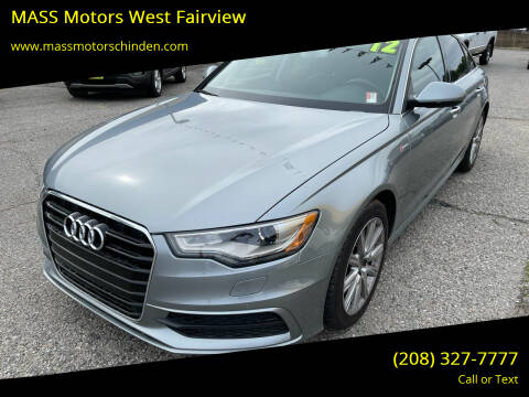 2012 Audi A6 for sale at MASS Motors West Fairview in Boise ID