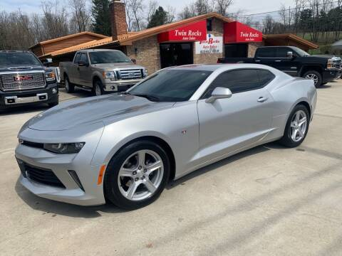2016 Chevrolet Camaro for sale at Twin Rocks Auto Sales LLC in Uniontown PA