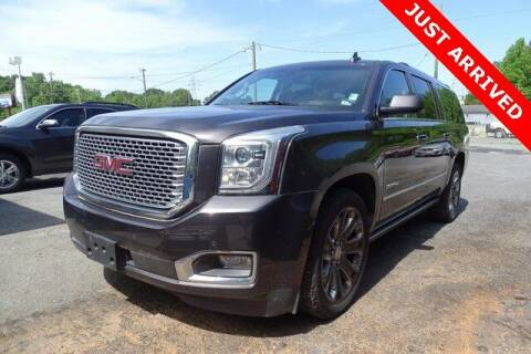 2015 GMC Yukon XL for sale at Brandon Reeves Auto World in Monroe NC