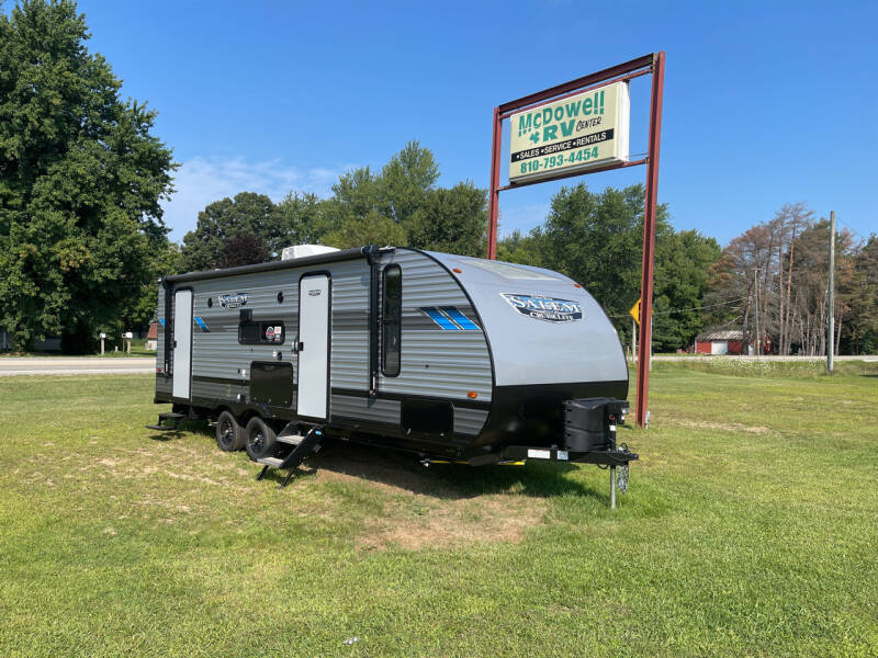 2022 Forest River Salem 240BHXL for sale at McDowell RV Sales, Inc in North Branch MI