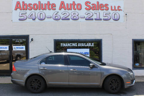 2012 Ford Fusion for sale at Absolute Auto Sales in Fredericksburg VA