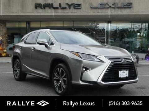 2019 Lexus RX 350 for sale at RALLYE LEXUS in Glen Cove NY