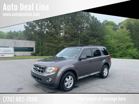 2009 Ford Escape for sale at Auto Deal Line in Alpharetta GA