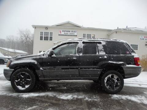2001 Jeep Grand Cherokee for sale at SOUTHERN SELECT AUTO SALES in Medina OH