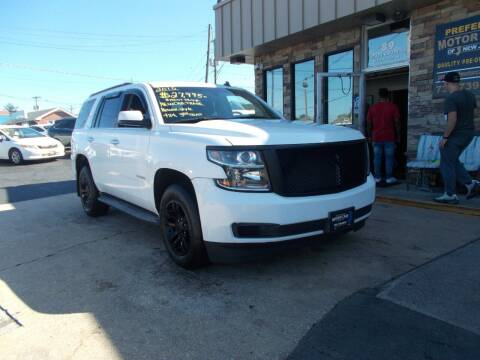 2015 Chevrolet Tahoe for sale at Preferred Motor Cars of New Jersey in Keyport NJ
