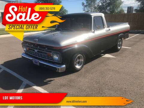1964 Ford F-100 for sale at LDT MOTORS in Amarillo TX